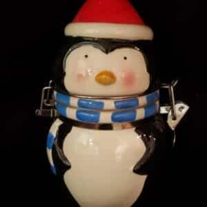 Penguin Jar with Lid