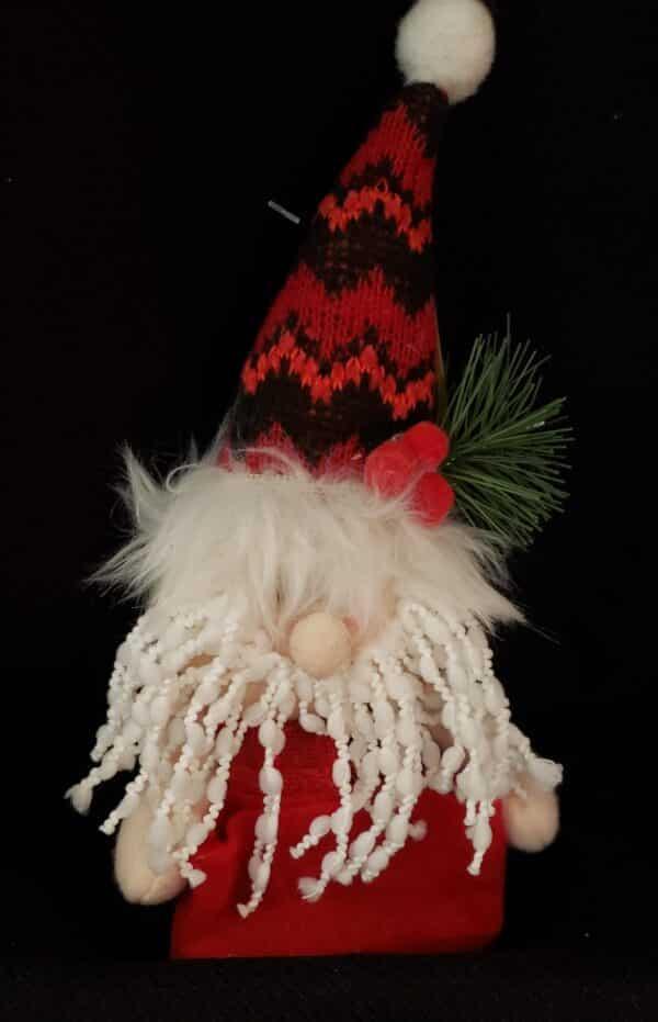 Red & Black Gnome